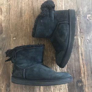 UGG Mini Bailey II Black Boots size 7